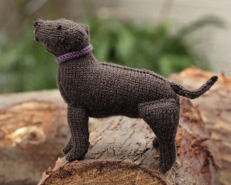 Labrador Retriever Free Dog Knitting Pattern