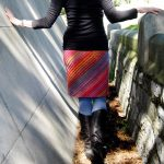 Lanesplitter Skirt Free Women's Knitting Pattern