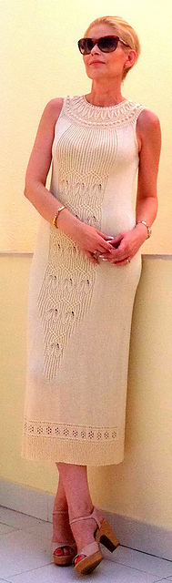 Lavinia Beautiful Free Dress, Tunic or Shirt Knitting Pattern
