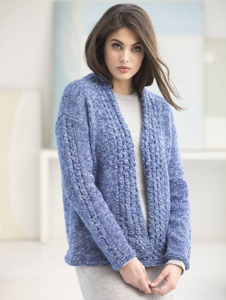 Free free slip stitch cardigan knitting patterns Patterns ...