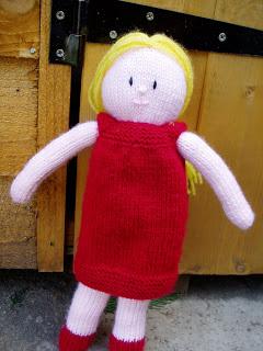 Lily Doll Free Knitting Pattern