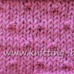 Little Bumps Free Knitting Stitch from http://www.knitting-bee.com/knitting-stitch-library/knit-purl-stitches/little-bumps-free-knitting-stitch