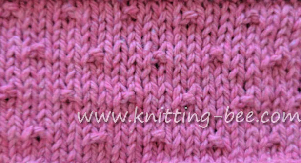 Knitting Bee Stitch Library : Knit and Purl Stitches Youll Love Working with - All Free Knit Patterns ...