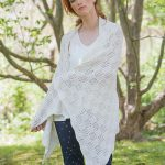 Marcy Free Lace Shawl Knitting Stitch