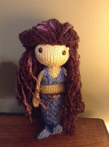 Mermaid Free Knitting Pattern