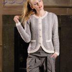 Meryl Cardigan Free Knitting Pattern for Women