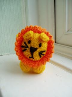 Mini Lion Free Knitting Pattern