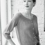 Montrey Raglan Sleeve Cardigan Free Knitting Pattern