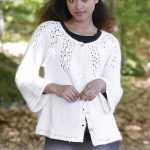 Nineveh lace Cardigan Free Knitting Pattern