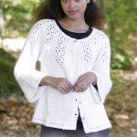 Nineveh lace Cardigan Free Knitting Pattern