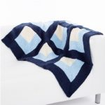Op Art Throw & Pillow Free Knitting Pattern