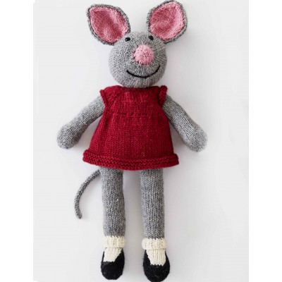 Patons Country Mouse Free Toy Knitting Pattern