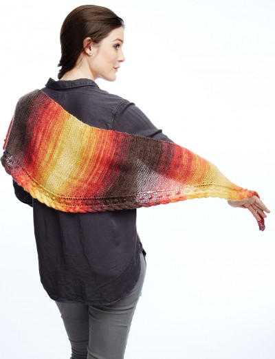 Patons Edge of the Wedge Shawl Free Knitting Pattern