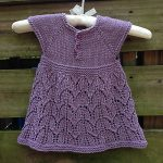 Paulina Dress Free Baby Knitting Pattern