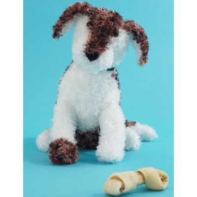 Free Toy Dog Knitting Patterns. Free pattern download, toy knit pattern
