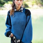 Puffy Sleeved Sweater Free Knitting Pattern