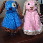 Puppy Lovey Free Knitting Pattern