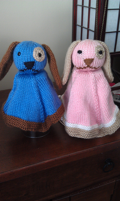 Puppy Lovey Free Knitting Pattern