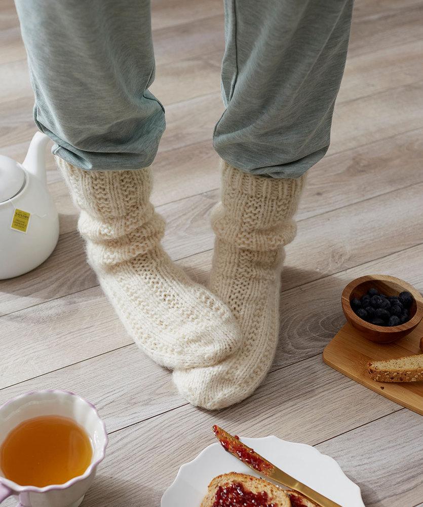 Relaxation Socks Free Knitting Pattern. Free sock knitting pattern download