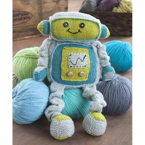 Remy Robot Free Knitting Pattern