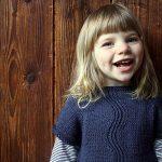River Dress Free Toddler Knit Pattern