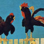 Rooster and Hen Free Knitting Pattern
