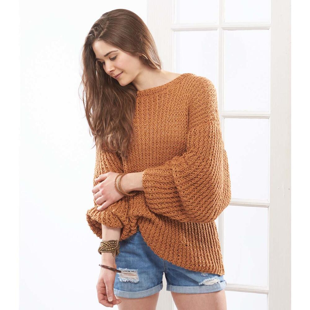Sandbar Pullover Free Knitting Pattern Download