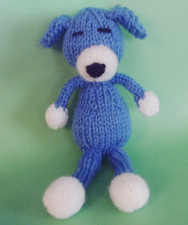 Sleepy Puppy Free Knitting Pattern