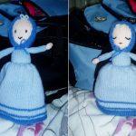 Sleepy Topsy Turvy Doll Free Knitting Pattern