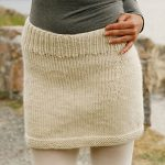 Snowbell Short Skirt Free Women's Knitting Pattern
