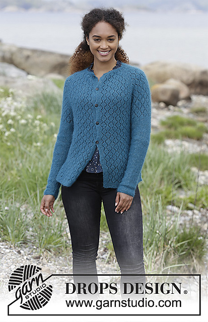 Song of the Sea Cardigan Free Knitting Pattern
