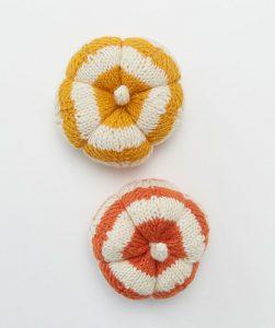 Spicy Knit Pumpkins Free Fall Knitting Pattern
