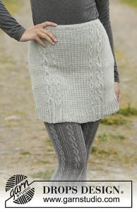 Sway Me More free short skirt knit pattern