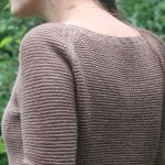 Sweetpea Women's Garter Stitch Women's Sweater Free Knitting Pattern download