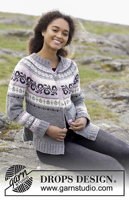 Telemark Jacket Free Knitting Pattern
