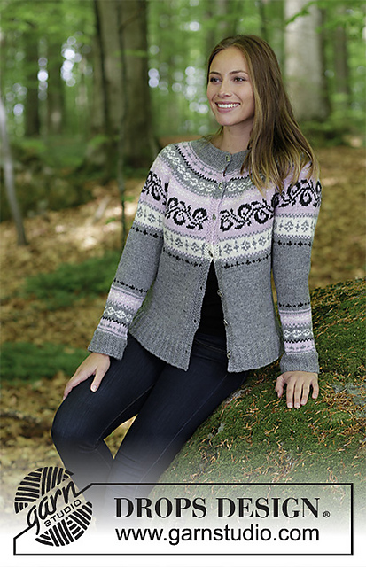 Telemark Jacket Free Knitting Pattern