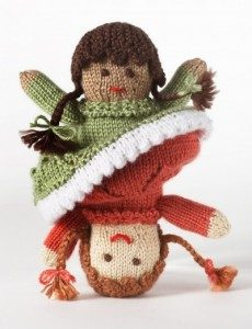Topsy Turvey Doll free knitting pattern