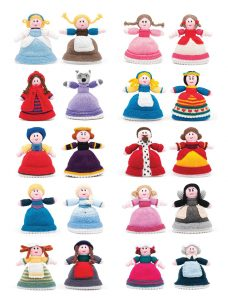 topsy turvy doll knitting patterns