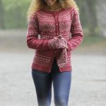 Valdres Jacket, Hat and Mittens Set Free Knitting Pattern