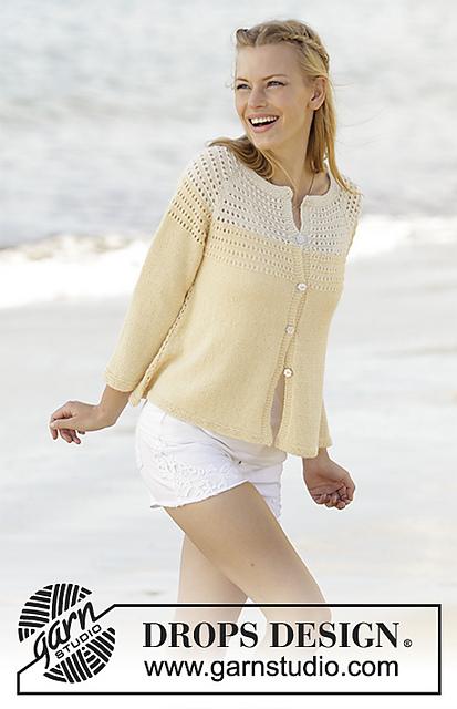 Vanilla Cream Free Cardigan Knitting Pattern