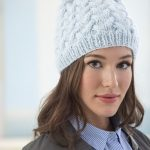 Waving Cables Hat Free Knitting Pattern