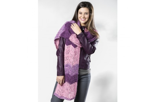 Whispering Wish Lace Super Scarf Free Knitting Pattern