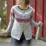 Winter Berries Jacket Free Knitting Pattern