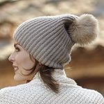 Woman's Ribbed Hat Free Knitting Pattern