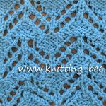 Zig Zag Eyelet Free Knitting Stitch http://www.knitting-bee.com/knitting-stitch-library/lace-stitches/zig-zag-eyelet-free-knitting-stitch