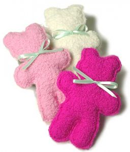 Plush Teddy Bear Free Knitting Pattern