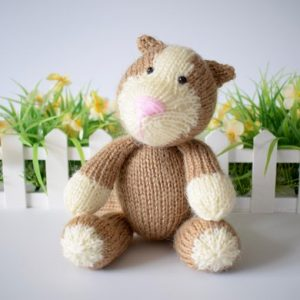 toy cat knitting pattern