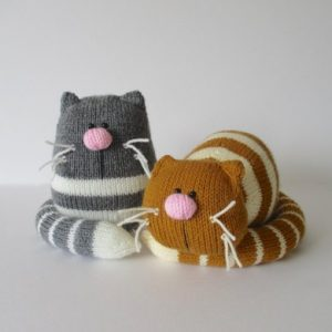 toy cat knitting pattern downloads
