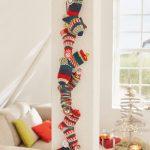 Ankle socks advent calendar free Christmas knitting pattern