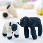 Baa Baa Black Sheep Play Set Free Knitting Pattern